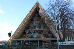 'Cardboard' cathedral